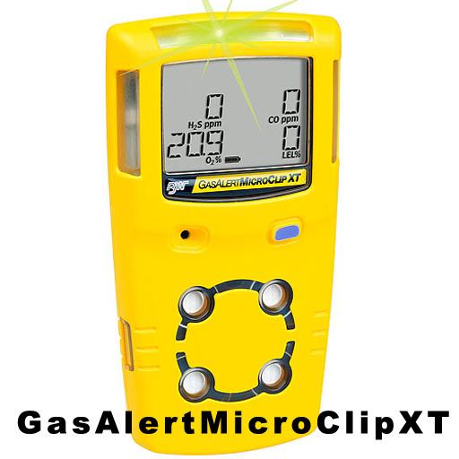 BW GasAlertMicroClip XT 四合一氣體檢測儀(經濟型)