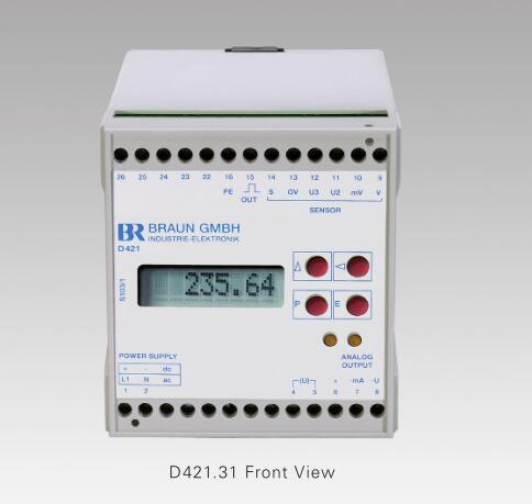 D421.31U1轉速控制器/轉速監控器/轉速模塊/百靈卡/